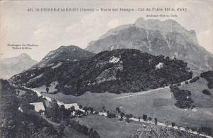 France Saint Pierre d'Albigny Route des Beauges Col du Frene