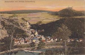 Balduinstein Mit Schloss Schaumburg (Lower Saxony), Germany, 1900-1910s