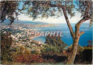 Postcard Modern Riviera dei Sanremo Panorama