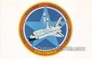 Columbia NASA Unused