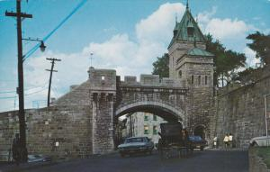 La Porte Kent Gate, QUEBEC CITY, Quebec, Canada, 40-60´s