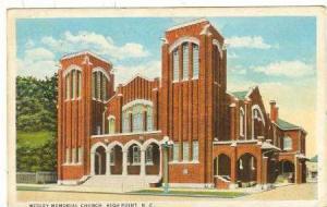 Wesley Memorial Church, High Point, North Carolina, PU