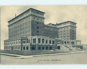 Divided-Back HOTEL SCENE Cape May - Near Wildwood & Vineland New Jersey NJ H1376