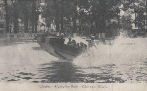 CHICAGO, Illinois, 1900-10s ; Chutes, Riverview Park