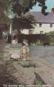 Guernsey The Wishing Well Moulin Huet Postcard