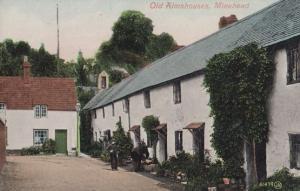 Minehead Old Almshouses Postcard