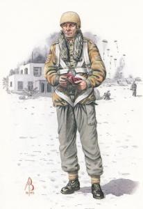 Sergeant 23 Parachute Field Ambulance Royal Army Medical Corps Suez War Postcard