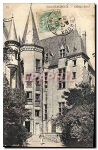 Old Postcard Chateauroux Chateau Raoul