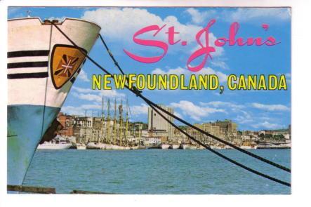 Portuguese White Fleet, St John's Newfoundland, Tooton's Ltd