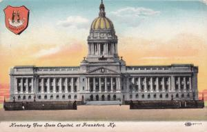 FRANKFURT , Kentucky, 1900-10s ; New State Capitol