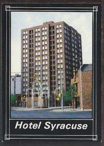 Hotel Syracuse Syracuse NY Postcard BIN