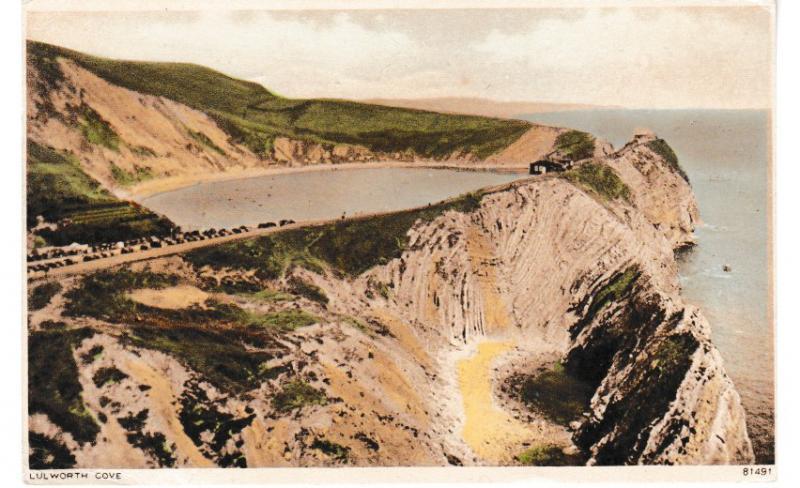 Post Card Dorset LULWORTH COVE Photochrom 81491