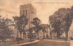 Connecticut New Haven Gymnasium Yale University Albertype
