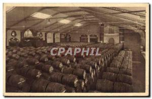 Old Postcard Folklore Wine Vintage Champagne Pommery & Greno Reims A cellar f...