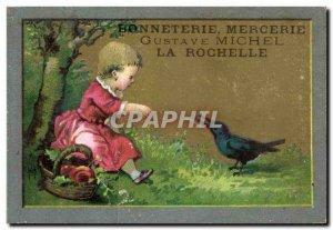 Chromo Hosiery Gustave Michel La Rochelle bird