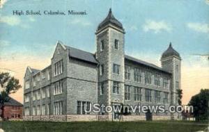 High School, Columbia Columbia MO 1916