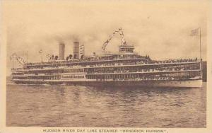 New York Hudson River Day Line Steamer Albertype