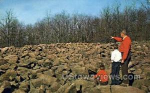 Ringing Rocks Bucks County PA Unused