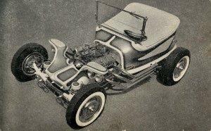 Excaliber Roadster made of fiberglass