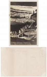 RPPC - Mammoth Cave National Park, Kentucky-M-6 Booth's Amphitheater -