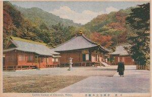 Tachiki Kannon Of Chiuzenji Nikko Old Japanese Postcard