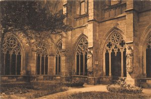 Mainz Klostergarten im Dom Cathedral Postcard