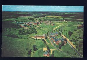 Waterville, Maine/ME Postcard, Aerial View, Colby College Campus