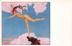 Artist Richard Muller Beautiful Nude The Dancer Postcard
