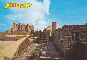 Portugal Obidos Castle Walls