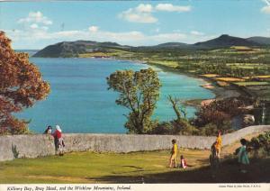 Ireland Killarney Bay Bray Head and Wicklow Mountains