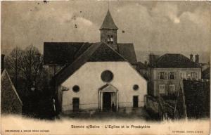 CPA SAMOIS s/Seine - L'Église et le Presbytere (436680)