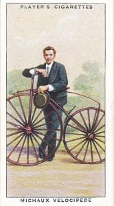 Cigarette Cards Players CYCLING No 5 Michaux Velocipede