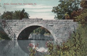 NEW CASTLE , Pennsylvania, PU-1909 ;  Stone Bridge, Cascade Park
