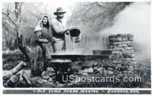 Old Time Sugar Making - Chardon, Ohio