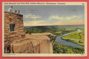 Ochs Memorial and Point Rock, Lookout Mountain, Chatanooga, Tennessee