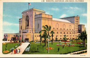 California Long Beach Municipal Auditorium