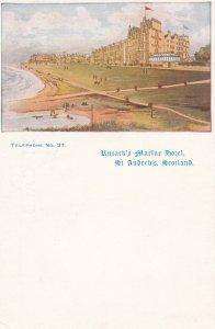 ST ANDREWS , Fife , Scotland , 00-10s ; Rusack's Marine Hotel
