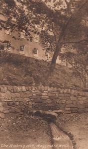 Waggoners Wishing Well Wells Surrey Antique Postcard