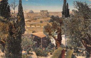 JerUSA lem Garden of Gehsemane Israel Postal Used Unknown