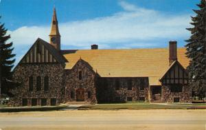 Cedar City Utah~LDS Latter Day Saints~Mormon First Ward Chapel~1960s Postcard