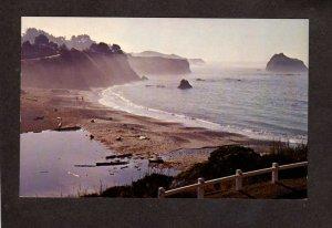 CA Van Damme State Park Mendocino California Postcard