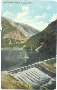 D/B Power Dam Ogden Canyon Utah UT