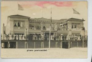 LONG BEACH, NEW YORK LONG BEACH NATIONAL BATHING PAVILLION-1909 RPPC POSTCARD