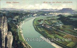 Blick von der Bastei Sachs, Schweiz Swizerland Unused