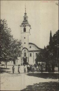Russia? Tisatska Crkva c1910 Postcard