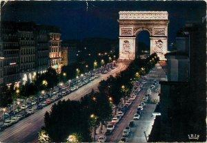 France Postcard Paris avenue de Champs Elysees