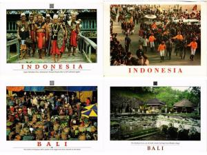 INDONESIA, INDONESIE, ASIA, DUTCH INDIES 150 Modern CP includinG ETHNIC TYPES