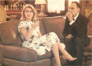 Actors ACIM Postcard Faimous Catherine Deneuve Jean Louis Trintignant