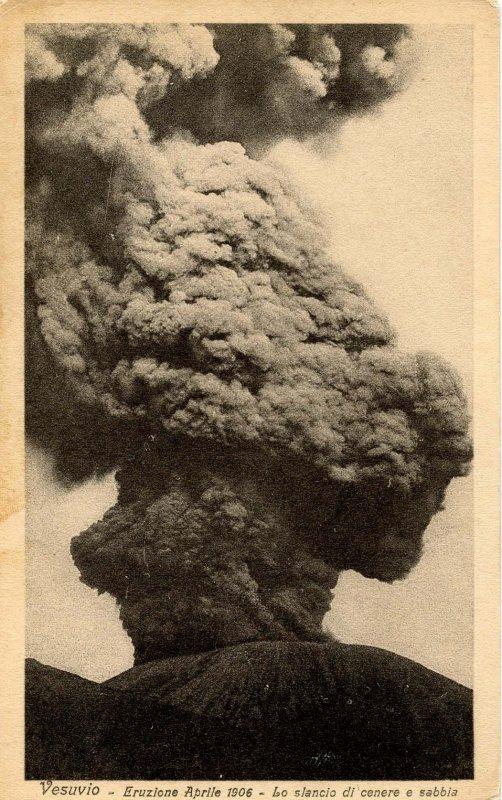 Italy - Mt Vesuvius Volcano Eruption, 1906