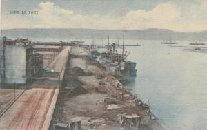 SUEZ , Egypt , 1900-10s ; Le Port